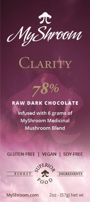 MyShroom Clarity chocolate