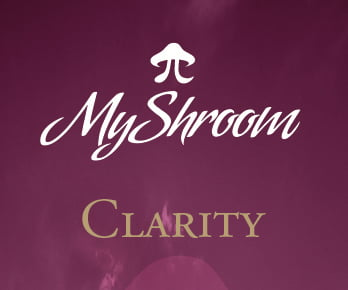 MyShroom Clarity chocolate logo