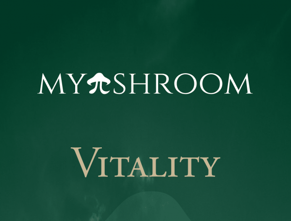 MyShroom Vitality chocolate logo